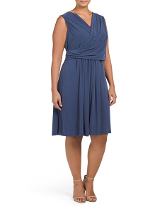 Plus City Retreat Dress