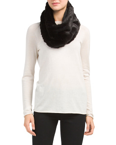 Faux Chinchilla Fur Neck Warmer