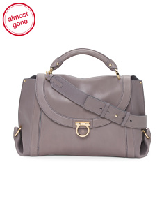 Made In Italy Leather Sofia Bag