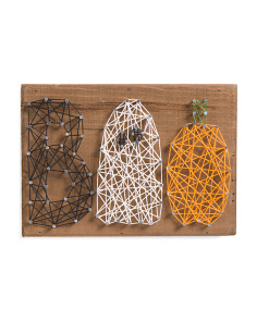 Boo String Art Sign