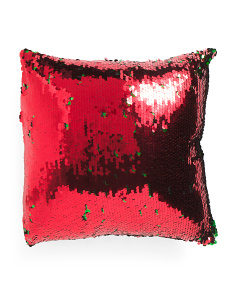 18x18 Reversible Sequin Pillow