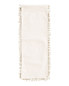 13x72 Tammy Tassels Table Runner