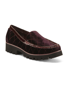 Lug Sole Loafers