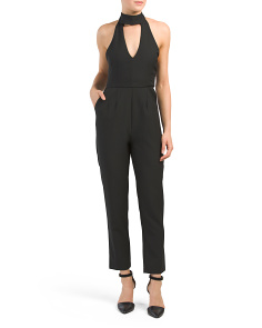 Cut Out Halter Jumpsuit