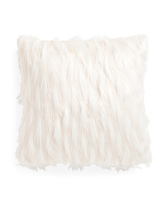 20x20 Faux Fur Indiana Pillow