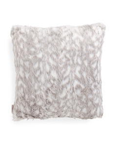 20x20 Faux Fur Winston Pillow