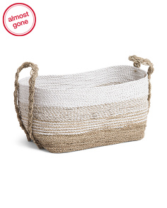 Medium Seagrass Storage Basket