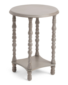 Knobby Leg Round Table