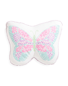 Kids 17x13 Butterfly Shaped Pillow