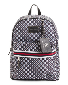 Diamond Print Backpack