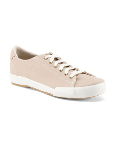 Natural Canvas Comfort Sneakers
