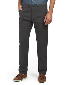 Stretch Chino Graphite Panama Pants
