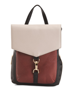 Patricia Color Block Backpack