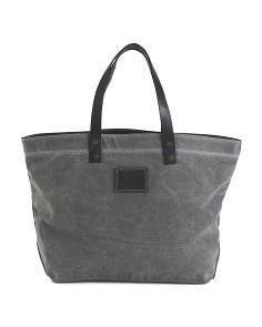 Made In USA Distressed Tote
