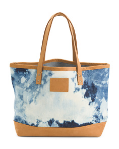 Made In USA Tie Dye Tote