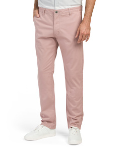 Stretch Twill Chino Pants