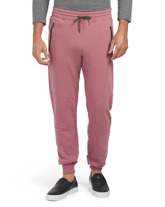 Zip Pocket Knee Seam Joggers