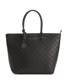 Embossed Logo Tote