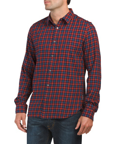 Cash Check Long Sleeve Shirt