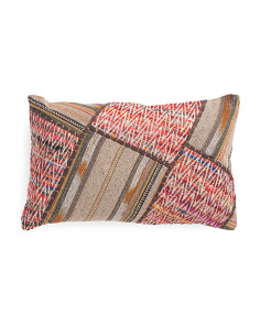 Made In India 13x21 Abstract Pillow