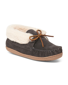 Judy Junior Suede Slippers