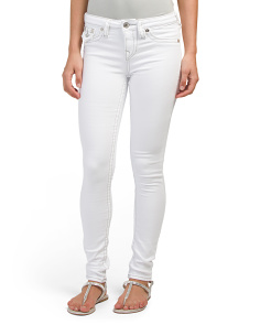 Super Skinny Flap Pocket Jeans