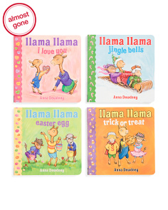 4pc Llama Llama's Holiday Library Book Set