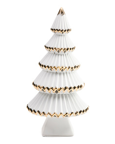 14in LED Porcelain Tree