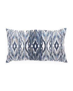 Made In India 14x24 Ikat Pillow