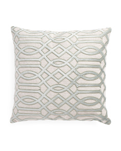 Made In India 22x22 Pattern Pillow