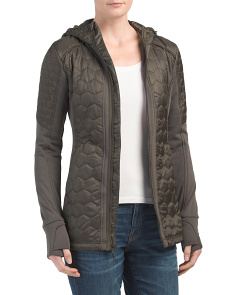 Harmony Mixed Quilted Jacket