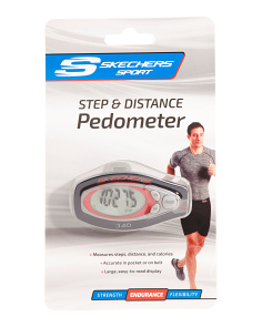 Step & Distance Pedometer