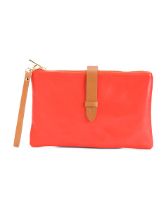 Made In Italy Leather Pouch