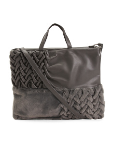 Made In Italy Woven Tote