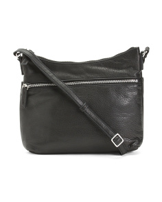 Mary Scoop Leather Crossbody