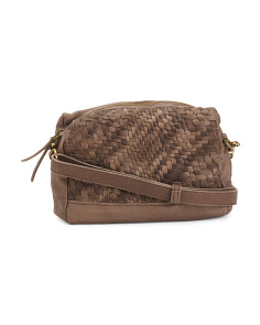 Mya Washed Leather Crossbody