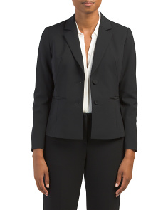 Petite Ronnie Stretch Wool Jacket