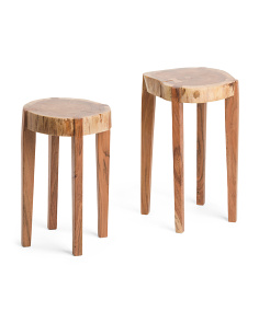 Made In India 2pc Wood Tables