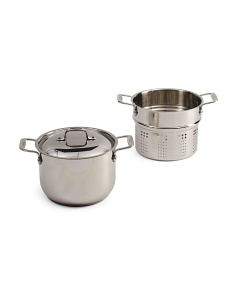 6qt Stainless Steel Pasta Set