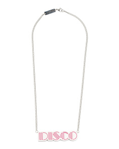 Designed In UK Disco Necklace