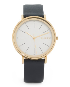 Women's Hald Leather Strap Watch