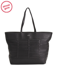 Leather Loida Tote