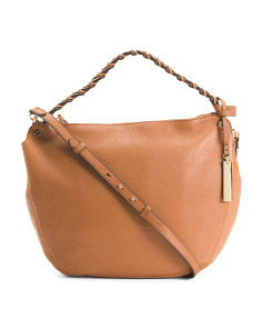 Luela Leather Shoulder Bag