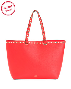 Tysa Leather Tote