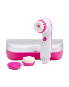 True Glow Cleansing Brush Kit