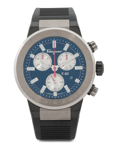Men's Swiss Made F80 Chronograph Titanium Case Watch