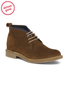 Men's Made In Italy Suede Chukka Boots