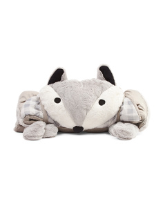 Fox Plush Sleeping Bag