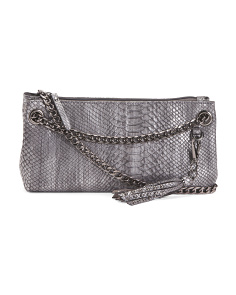 Chain Crossbody With Tassel