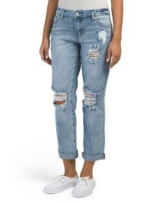 Bella Jeans With Cuffed Bottoms